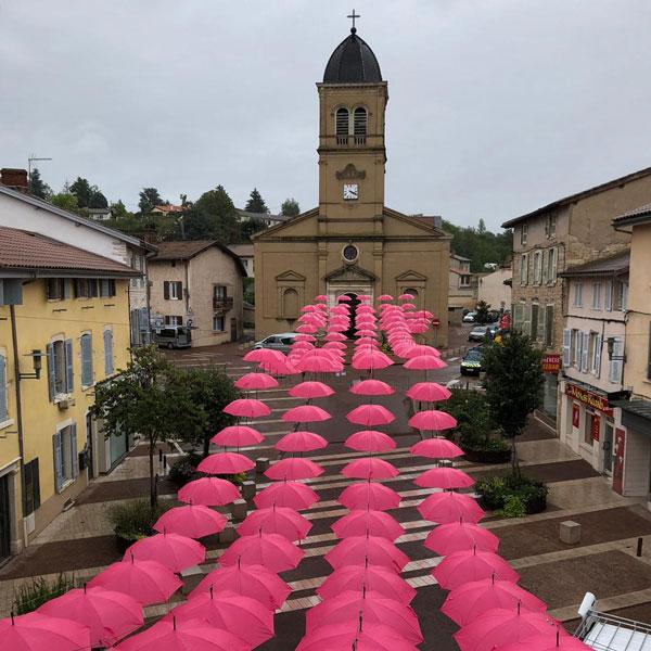 Octobre Rose à Montmerle sur Saône, 25 octobre 2020