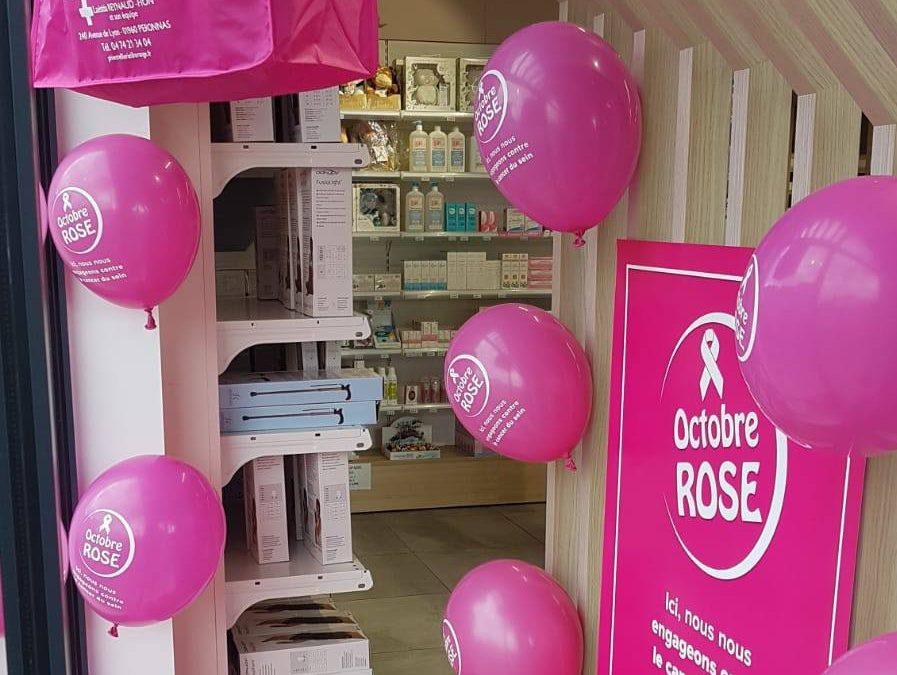 Octobre Rose à la Pharmacie de la Tréfilerie
