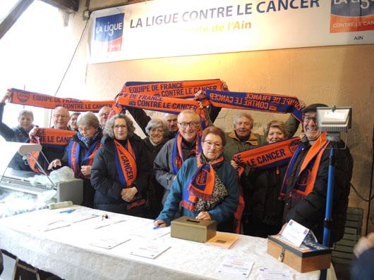 La Ligue se relance à Châtillon sur Chalaronne avec une vente gastronomique en février