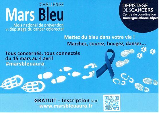 Mars Bleu : Le mois du cancer colo-rectal